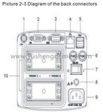 De dubbele Machine Ce Goedgekeurde Ysd1206 van de Ultrasone klank van de Schakelaar Digitale Draagbare