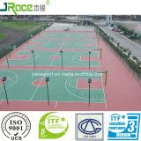 Поверхность спорта зеленого продукта напольная резиновый для арены