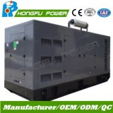 Gruppo elettrogeno elettrico silenzioso standby della generazione di potere 400kw/500kVA con il motore di Shangchai Sdec