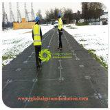 Jungfrau kundenspezifische UHMWPE temporäre Straßen-Matten-bewegliche große Plastikfußboden-Matte für Europa