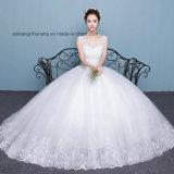 Lovemay Branco Quente Sexy Venda Specail Senhoras vestido de noiva bata