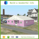 Casa Prefab clara de instalação fácil da construção de aço de Heya moderna