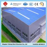 La luz de almacén de la estructura de bastidor de acero prefabricados