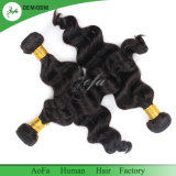 Uvas Remy Extensão de cabelo Onda Solta o cabelo humano