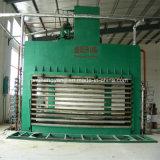Работа машины/древесины давления переклейки ног 4*8 горячая гидровлическая подпрессует машину для переклейки