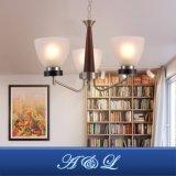 Lâmpada de vidro do candelabro da máscara do projeto clássico para o corredor, quarto, sala de visitas, cozinha, sala de jantar