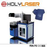 Plastik knöpft Glas-CO2 Laser-Markierungs-Maschine für Papierpappe