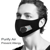 Air Purfying Smog Protection Filtration Electric Mask voor hardlopen Sport