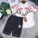 2019 nouveau style de Little Deer imprimé Chemise à manches longues pour les garçons Vêtements pour enfants
