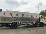 Les pétroliers de ciment en vrac camion Tri-Axle 15000 L alimentation en vrac pour les granulés d'alimentation du véhicule