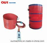 熱い販売の電気適用範囲が広いシリコーンの温湿布オイルドラムヒーターバンドシリコーンのヒーター
