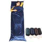携帯用ケースの軍の屋外の軽い寝袋をハイキングするキャンプ