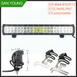 126W bar lumineux pour LED LED pour les camions de toit de 22 pouces