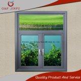 Stoffa per tendine lustrata doppio di alluminio Windows di profilo