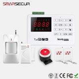 LCD GSM van de Vertoning het Draadloze Systeem van de Inbreker van het Huis Dialer van de Veiligheid van het Alarm Auto (ss-A30)