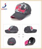 Algodão moda lavadas com impressão personalizada e bordados