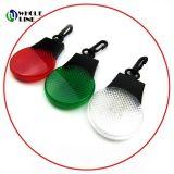 Segurança 3 LEDs LED Mini Lanterna Chaveiro com logotipo refletora