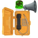 Водонепроницаемый телефон экстренной связи промышленных телефон Вандалозащищенная Интерком для движения по автостраде, туннеля