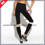 OEMの工場適性の女性の試しのセクシーなヨガは体操のヨガのズボンを遊ばす