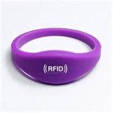 13.56MHz pulseira RFID personalizadas para os amantes do molde tamanhos promocionais