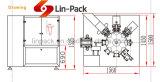 Machine van Doypack van het vaste lichaam & van de Korrel de Automatische Roterende Verpakkende met multi-HoofdWeger