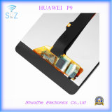 Первоначально франтовской экран касания LCD сотового телефона для Huawei P9