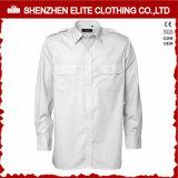 長い袖の濃紺の監視機密保護の均一ワイシャツ(ELTHVJ-315)