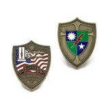 I militari di alta qualità assegnano la moneta del ricordo