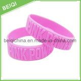Sport-Armband-Form-Zubehör-Armband, kundenspezifisches Firmenzeichen-Silikon-Großhandelsarmband