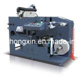 회전하는 기계 2를 인쇄하는 1개의 색깔 Flexo는 절단 역을 정지한다