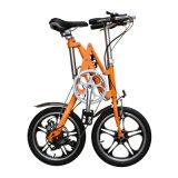 Bremsen-faltendes Fahrrad der Aluminiumlegierung-V