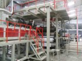 Banner Extrusion를 위해 Coloth PVC Flex Banner Making Machine 광고