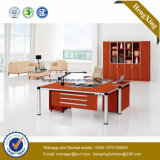 Деревянный стол офиса L-Формы офисной мебели меламина (NS-NW187)