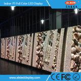 Mur d'intérieur de vidéo SMD P3 du service avant polychrome DEL de HD