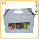 Коробка коробки упаковки высокого качества гофрированная плодоовощ упаковывая