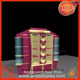Modular de alta calidad de expositor de accesorios de madera estándar para almacenar