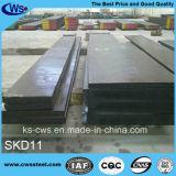 Do molde frio do trabalho de AISI D2 placa de aço