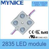 Módulo LED de alta qualidade ao ar livre 4LED SMD2835 / Módulo 140lm IP66 Módulo de iluminação LED