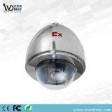 20X macchina fotografica protetta contro le esplosioni ad alta velocità dello Starlight CCTV/IP dell'acciaio inossidabile della cupola PTZ 304