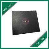 大きく黒いマットのラミネーションのフォーマルドレスのギフト用の箱