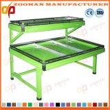 Fabricante del estante de visualización de la fruta y verdura del supermercado del acero inoxidable (Zhv22)