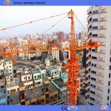 Fornitore della gru a torre dei kit della parte superiore della costruzione della costruzione di iso del Ce di Qtz63 5013 6t Cina