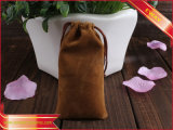 Saco da embalagem do presente do saco de veludo da alta qualidade