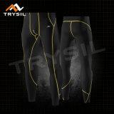 人のスポーツのレギングの体操の摩耗のための堅い圧縮のズボン