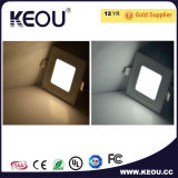 Samsung高いCRI LEDの極めて薄いパネル12Wの天井AC85-265V