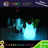 Luz iluminada de incandescência encantadora da noite do diodo emissor de luz da lâmpada de tabela da atmosfera