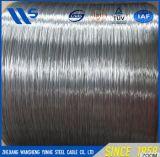 3mm 직경에 의하여 직류 전기를 통한 철강선은, 철강선 튄다