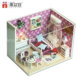 Heißes verkaufenmontierendes hölzernes Spielzeug des Dollhouse-2017