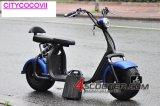 2017 motorino elettrico di Harley di vendita 60V 20ah di litio della batteria di Citycoco della bici 1000W della gomma grassa calda di potere