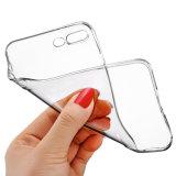 Caisse de butoir transparente molle de caisse du transparent ultra mince TPU [Anti-Raye] pour l'iPhone 7 d'Apple